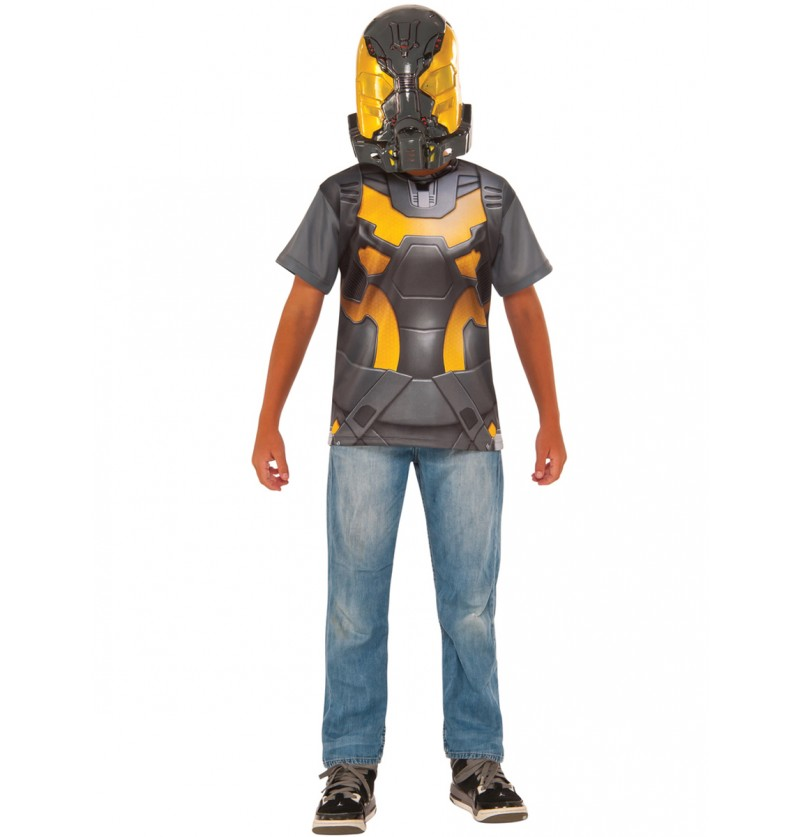 Kit disfraz de Yellow Jacket Ant Man para niño