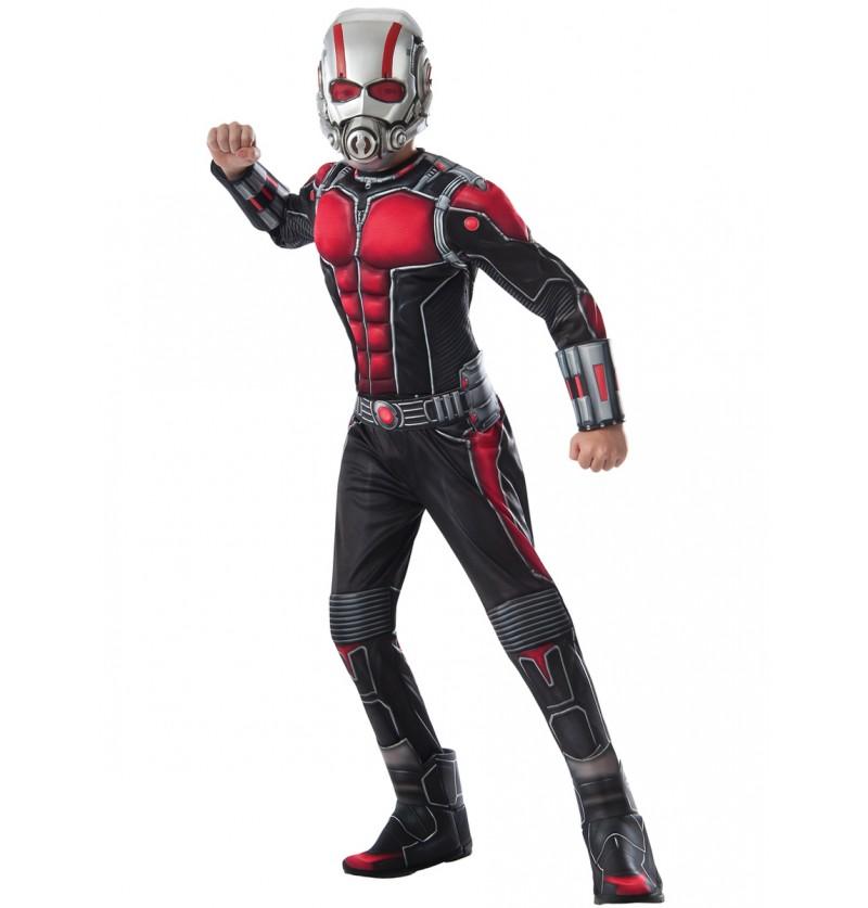 Disfraz de Ant Man deluxe para niño