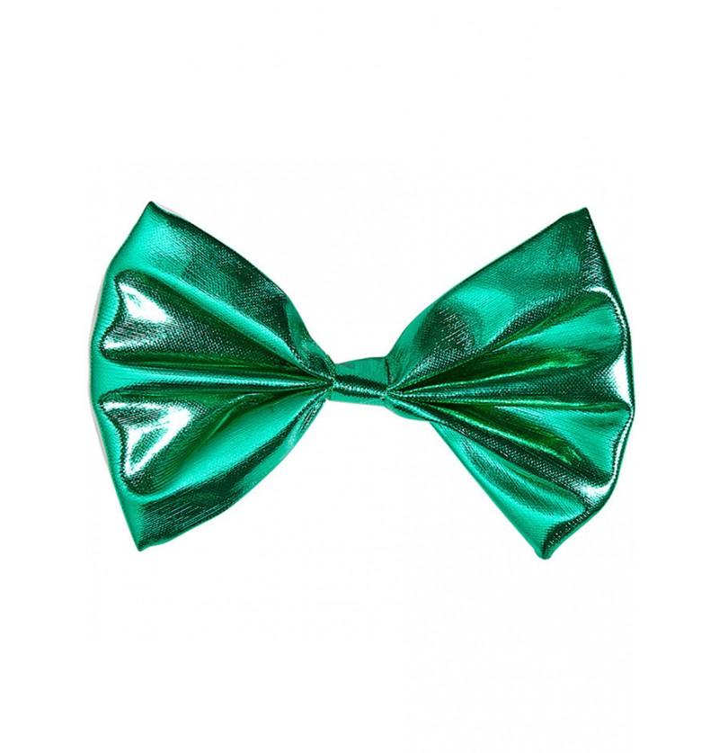 Pajarita verde brillante para adulto