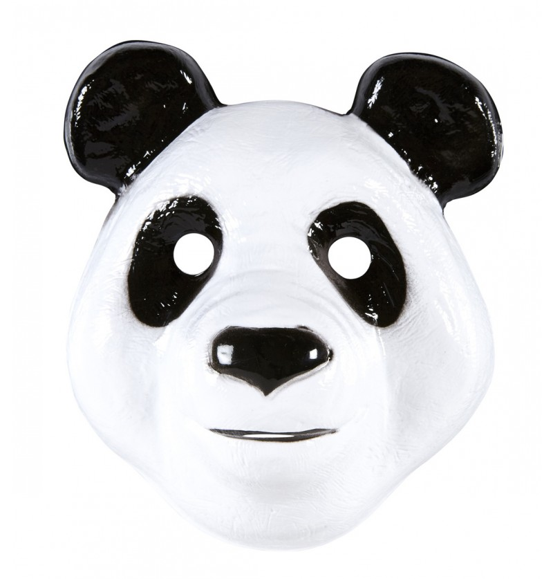 Máscara de panda divertido infantil