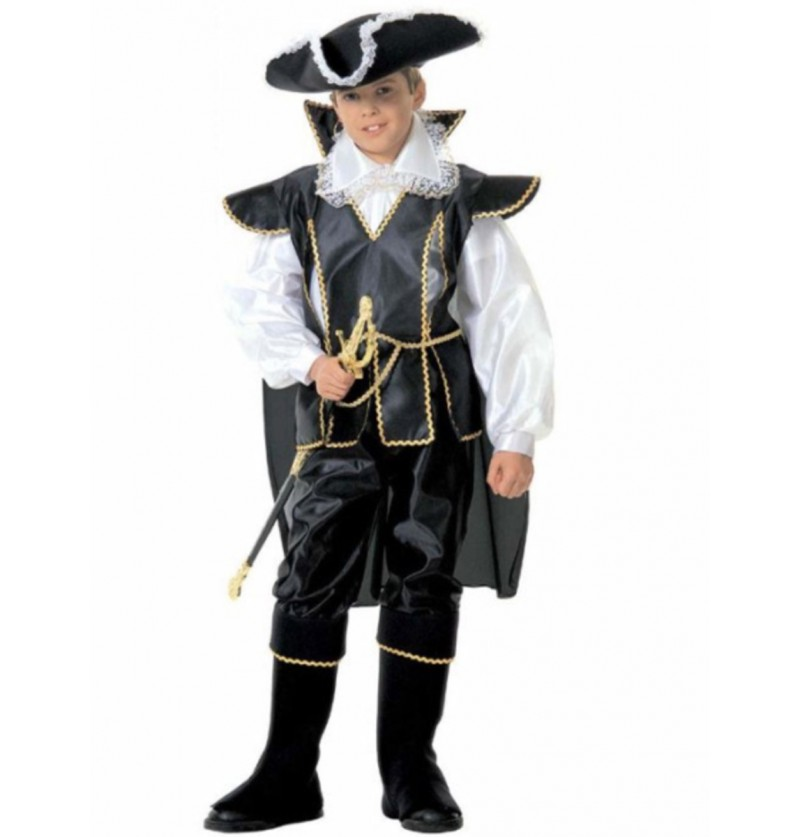 Disfraz de pirata valiente para niño