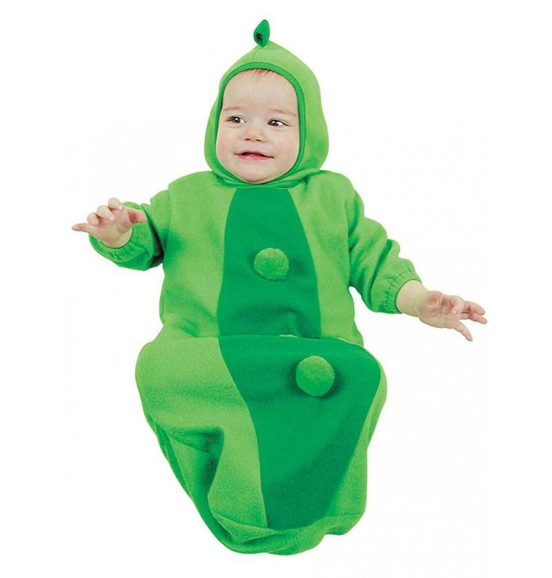 Disfraz de guisante adorable para bebé