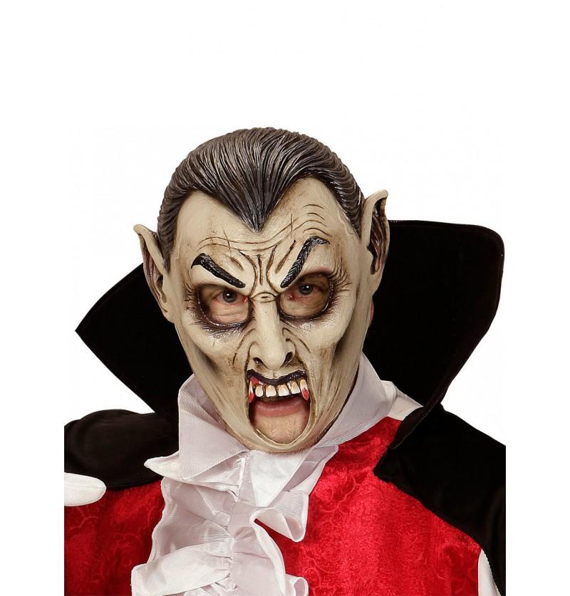 Máscara de vampiro sediento para adulto