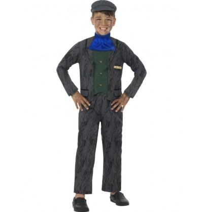 disfraz de minero horrible histories para nio