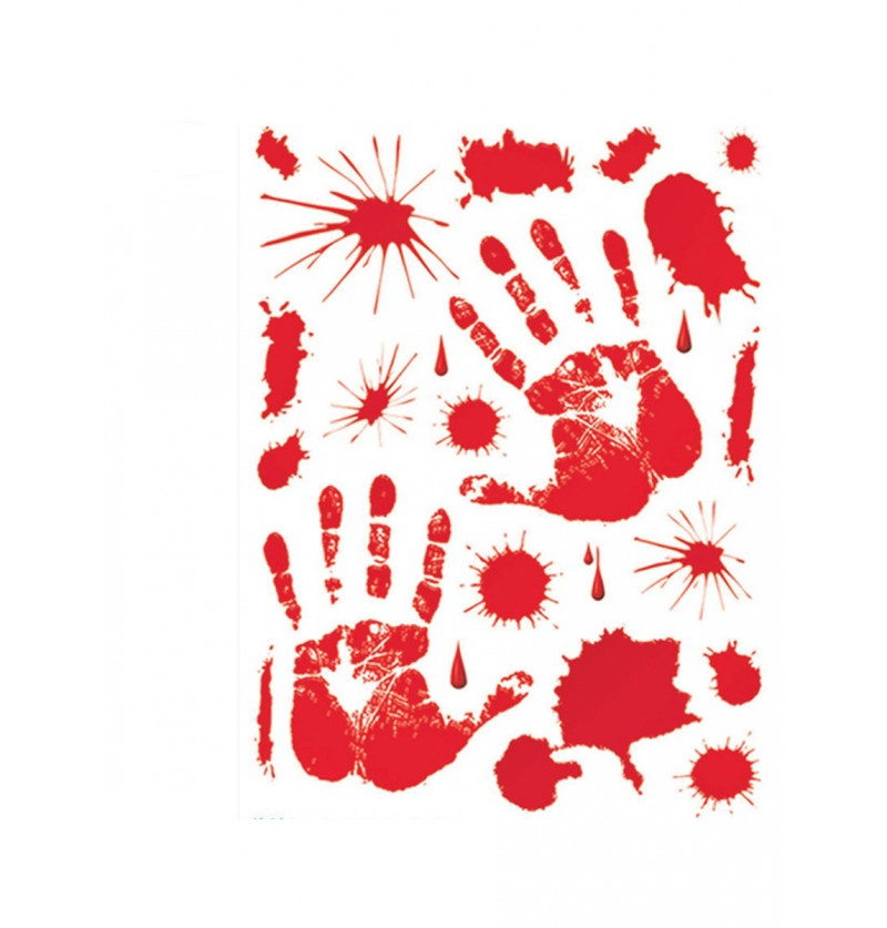 Set adhesivos de sangre