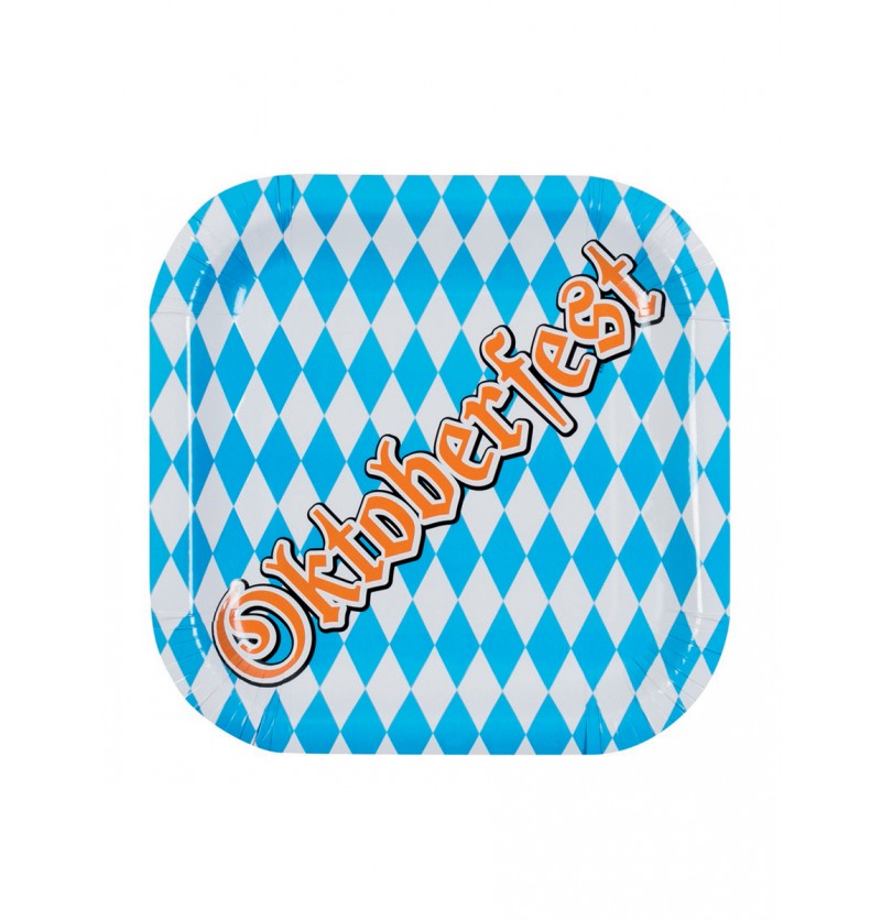 Set de 6 platos Oktoberfest