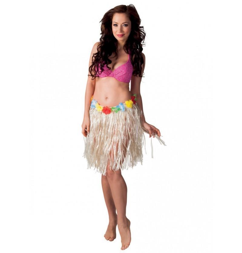 Falda hawaiana clásica para mujer