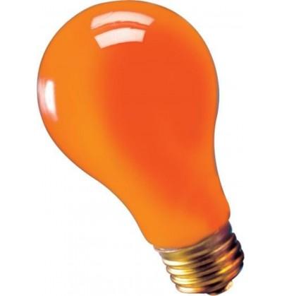 bombilla de luz naranja 75 watts