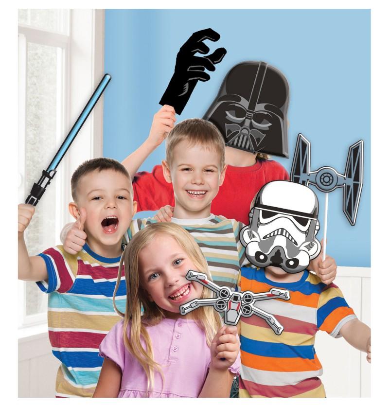 kit de accesorios variados para photocall de star wars