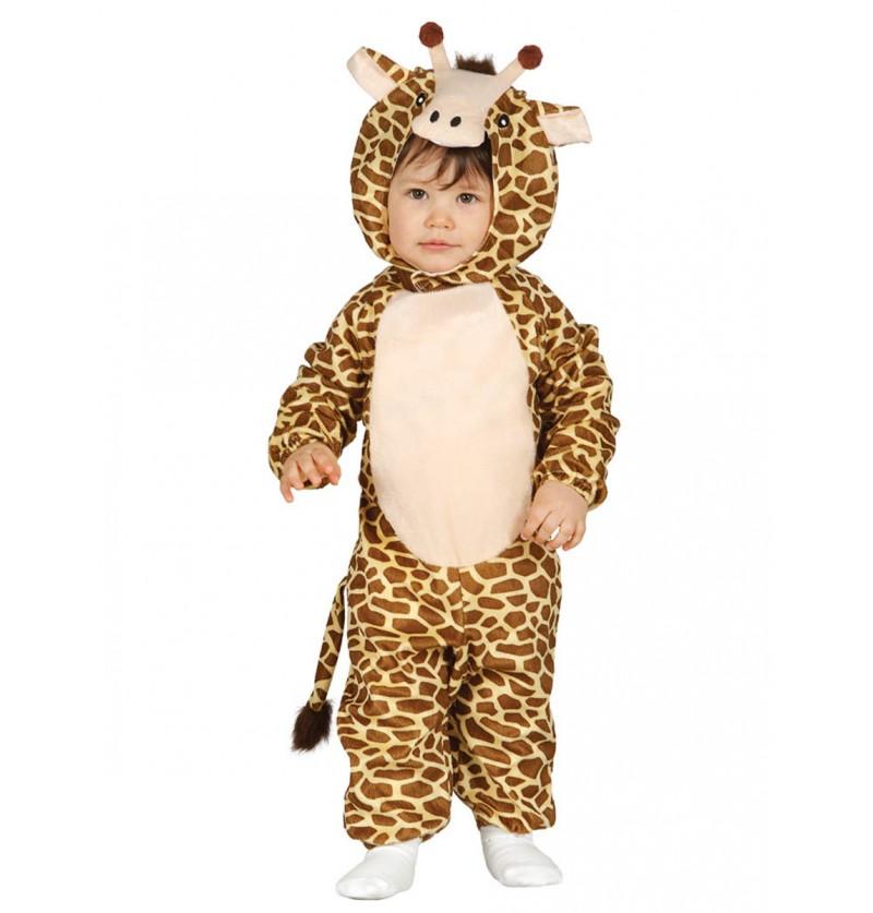 Disfraz de jirafa tierna para bebé