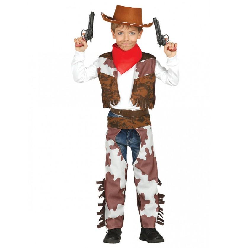 Disfraz de vaquero valiente para niño