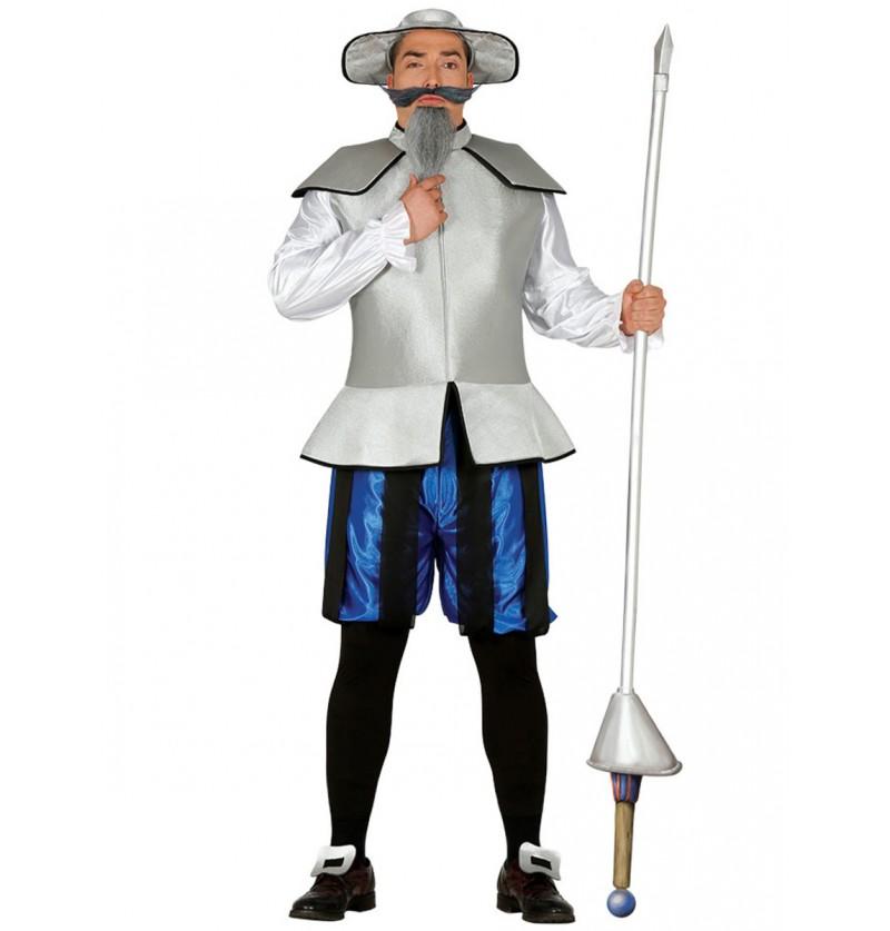 Disfraz de caballero de La Mancha para hombre
