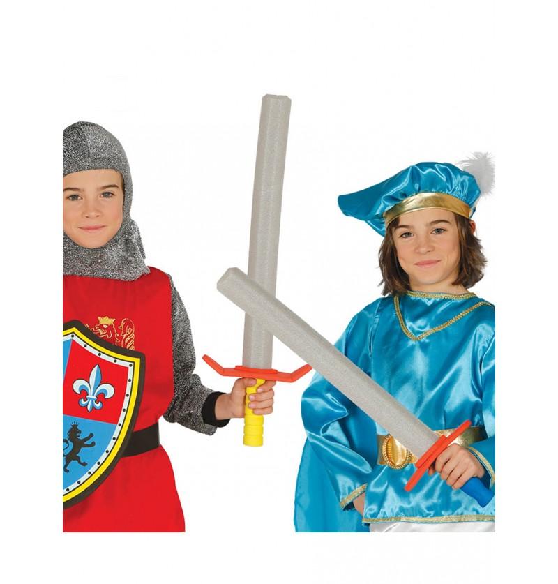 Espada medieval infantil