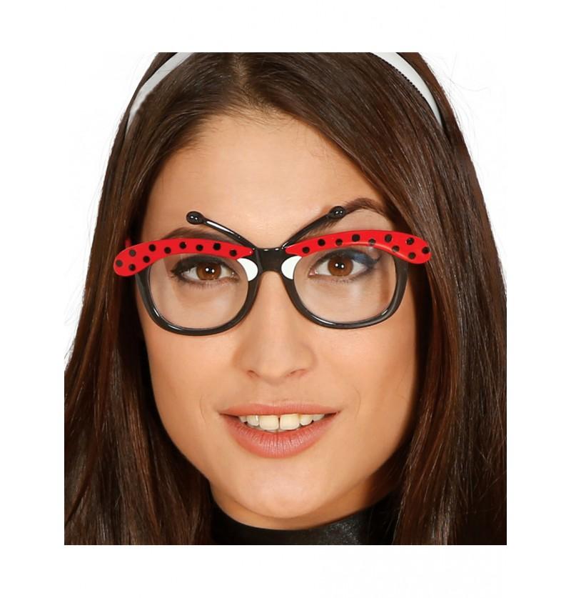 Gafas de mariquita para adulto