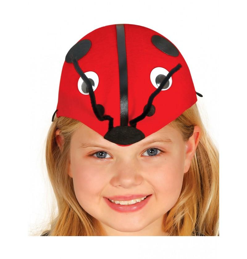 Sombrero de mariquita para niña