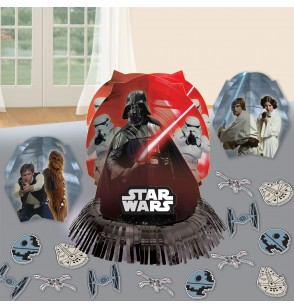 set de decoracin para mesa de star wars