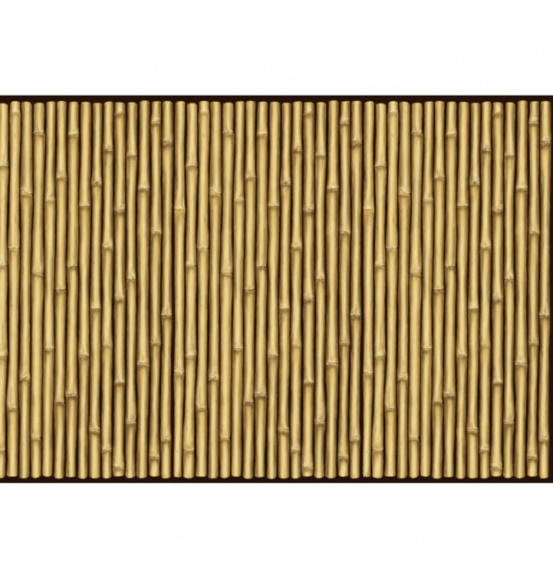 rollo para pared decorativo hawai de caas de bamb