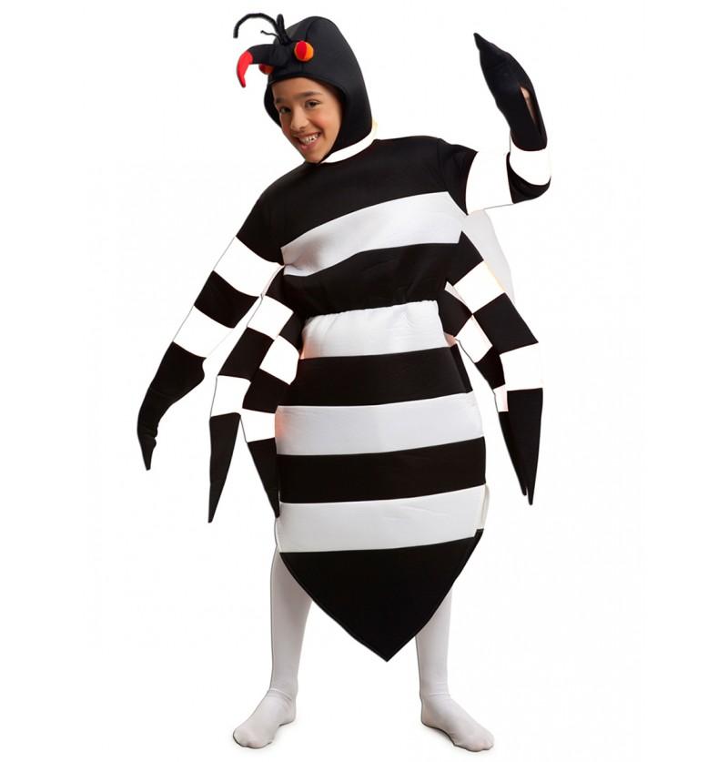 Disfraz de mosquito tigre para niño