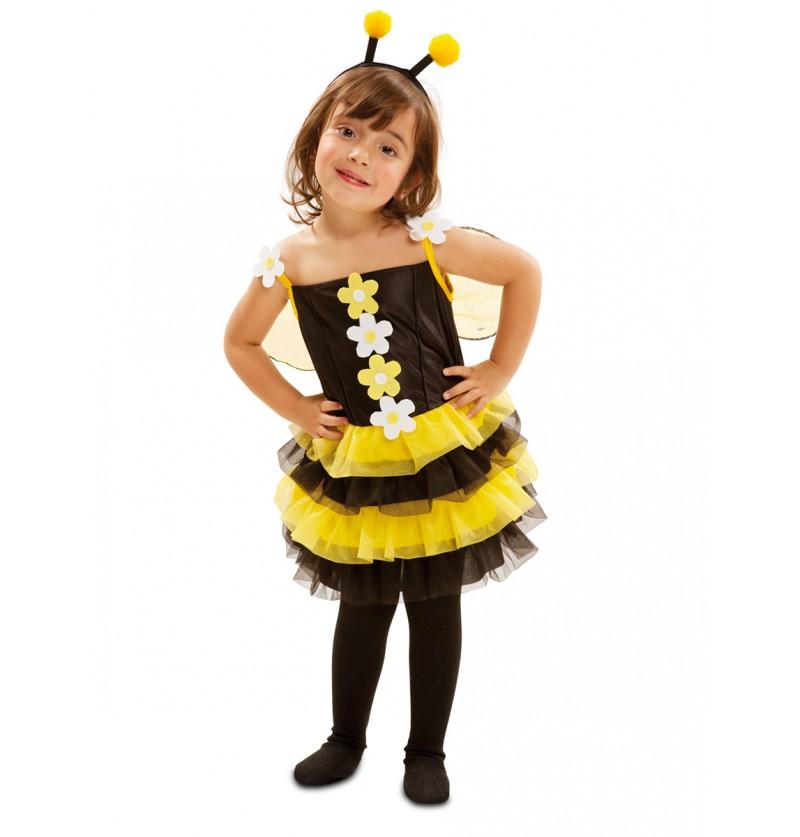 Disfraz de abejita de primavera para niña