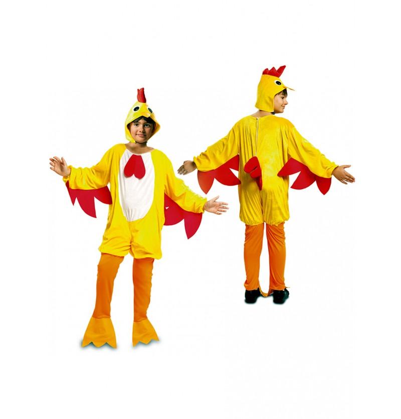 Disfraz de gallo del gallinero para niño