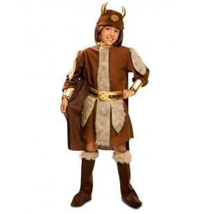 Disfraz de vikingo bravo para niño