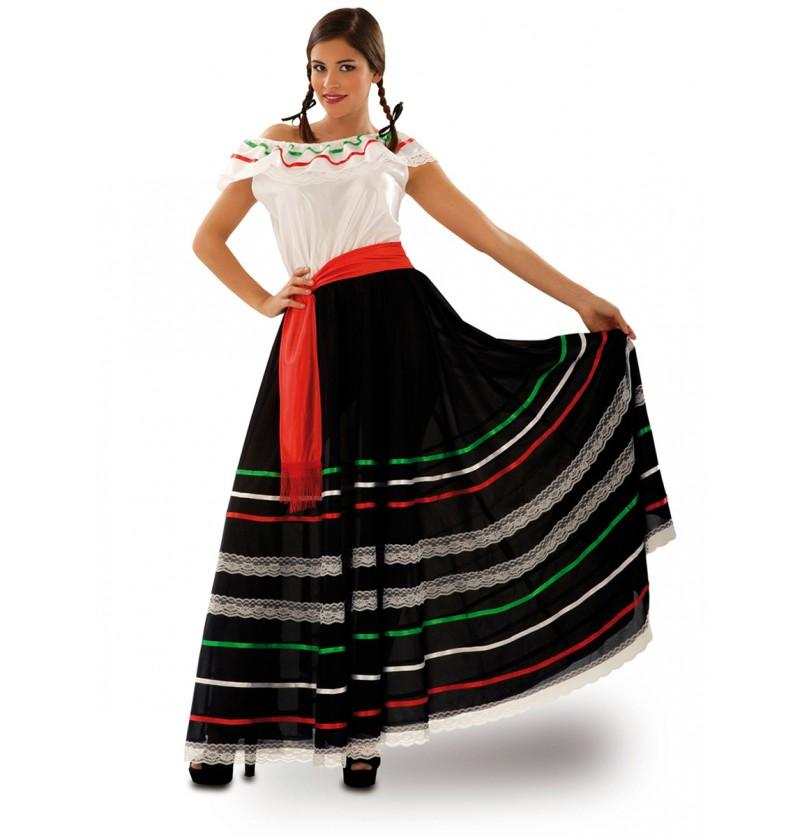 Disfraz de mexicana de cantina para mujer