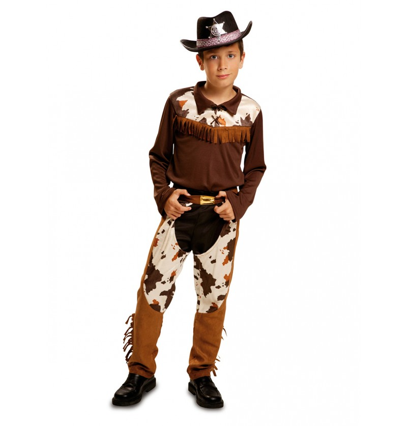 Disfraz de vaquero de rodeo para niño