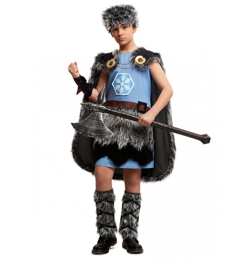 Disfraz de vikingo helador para niño