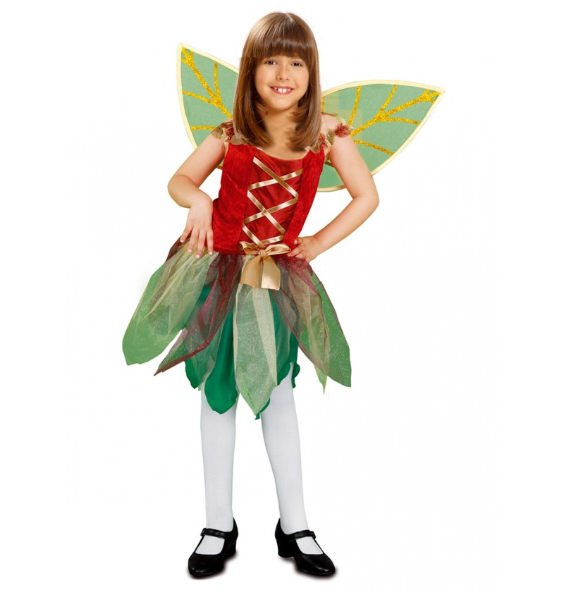 Disfraz de hada mágica para niña