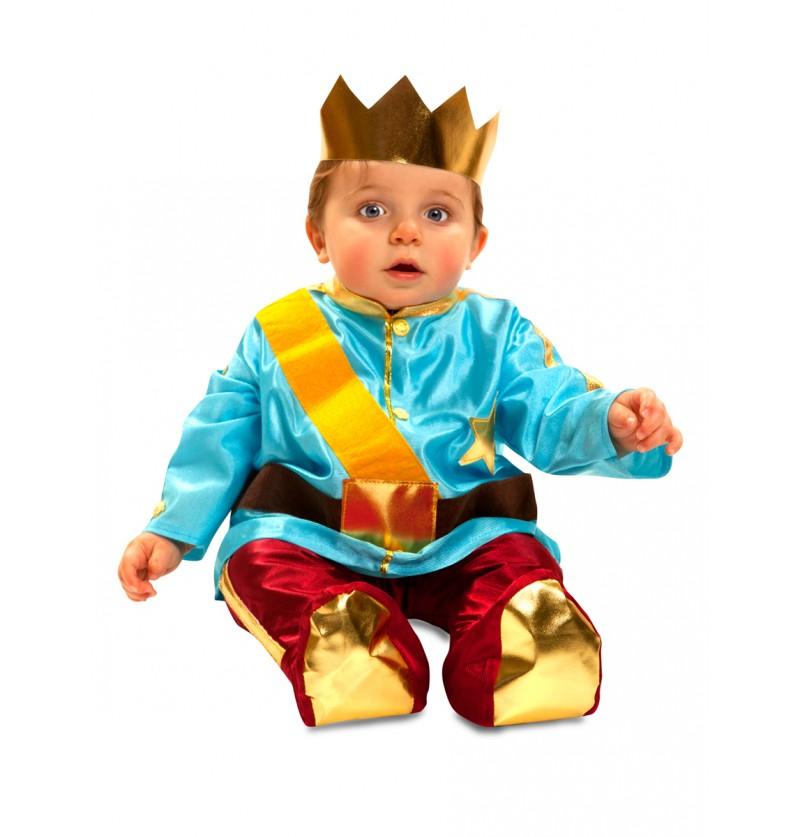 Disfraz de principito adorable para bebé