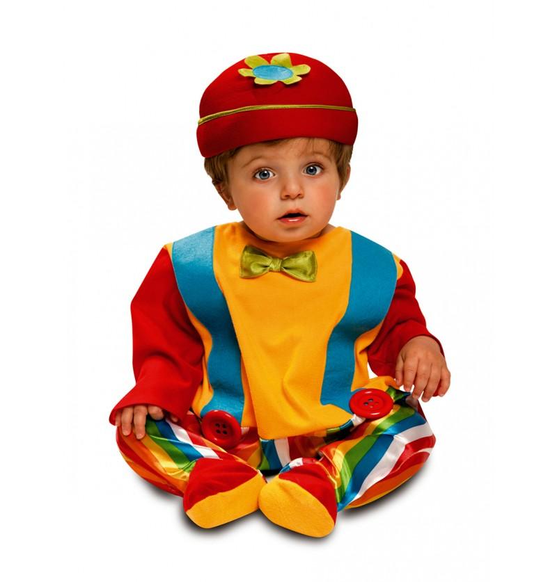 Disfraz de payasito gracioso para bebé