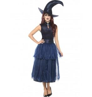 disfraz de bruja de medianoche para mujer