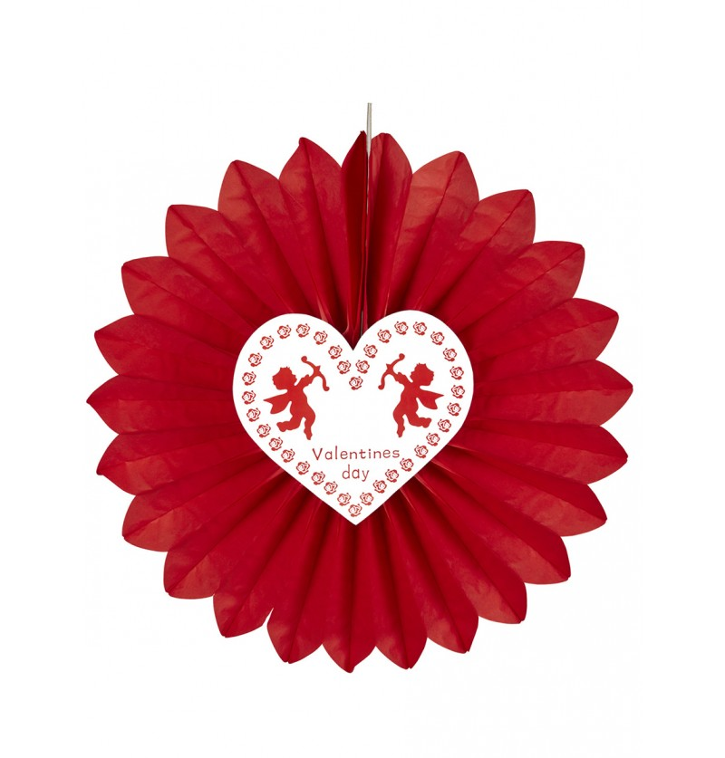 Farol con Cupido San Valentín