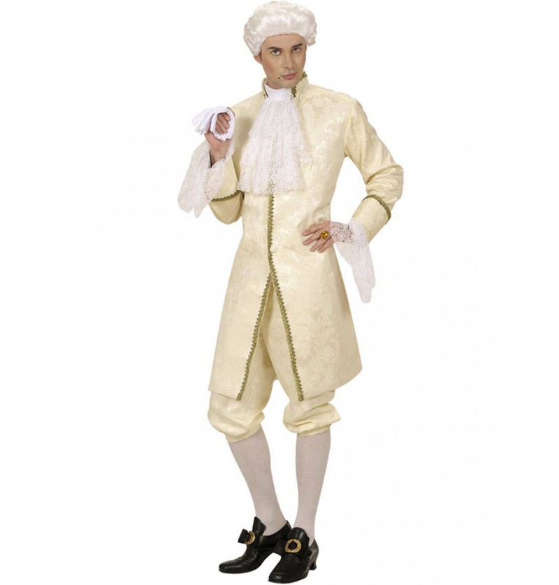 Disfraz de Casanova para hombre talla grande