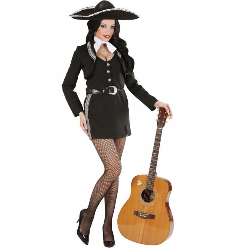 Disfraz de mariachi para mujer