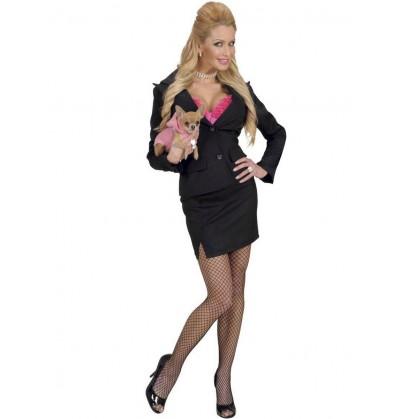 Disfraz de rubia muy legal para mujer