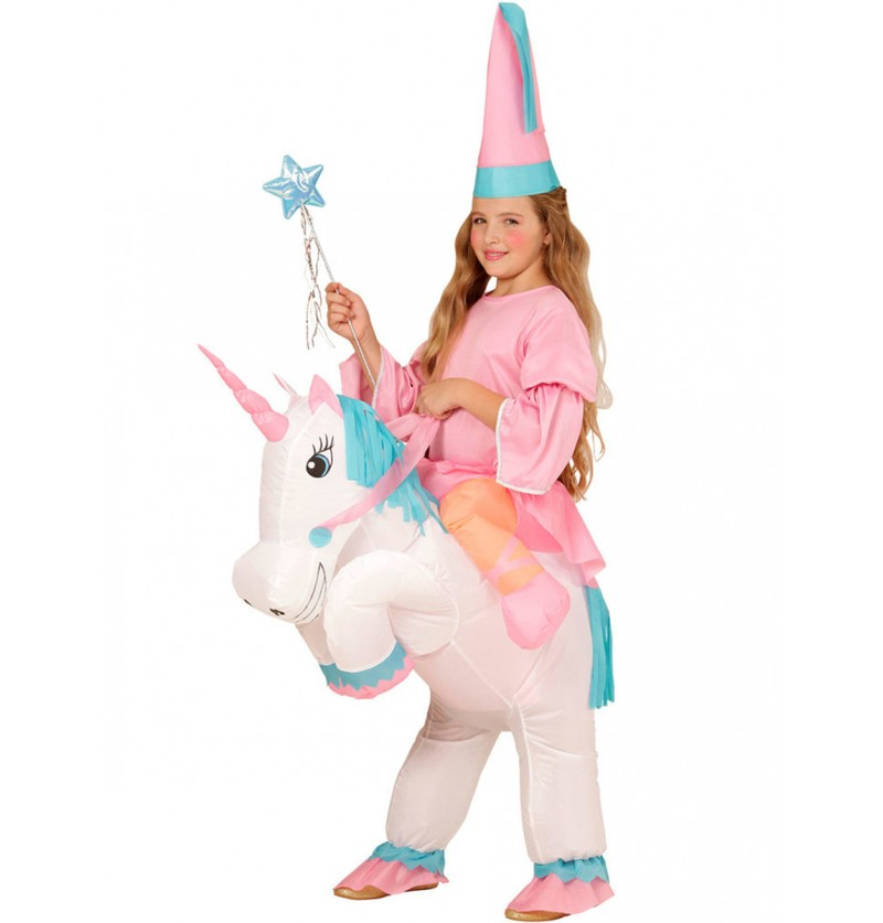 Disfraz de a lomos de mi unicornio para niña