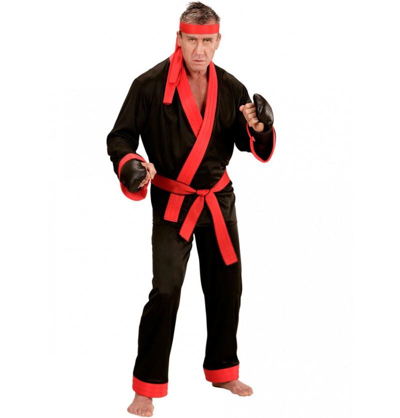 Disfraz de kick boxer para hombre talla grande