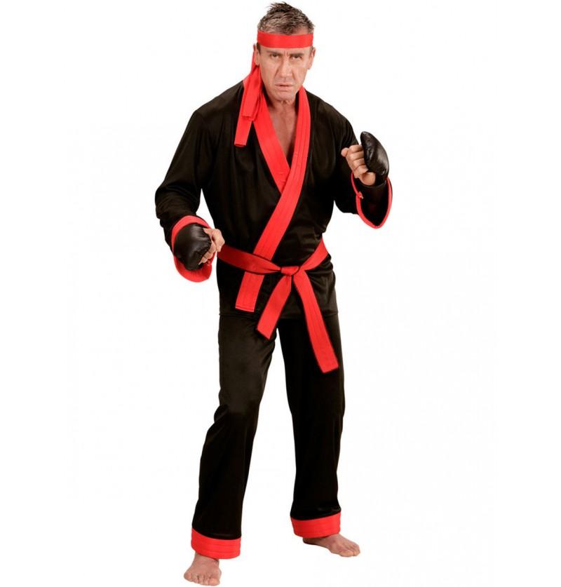 Disfraz de kick boxer para hombre