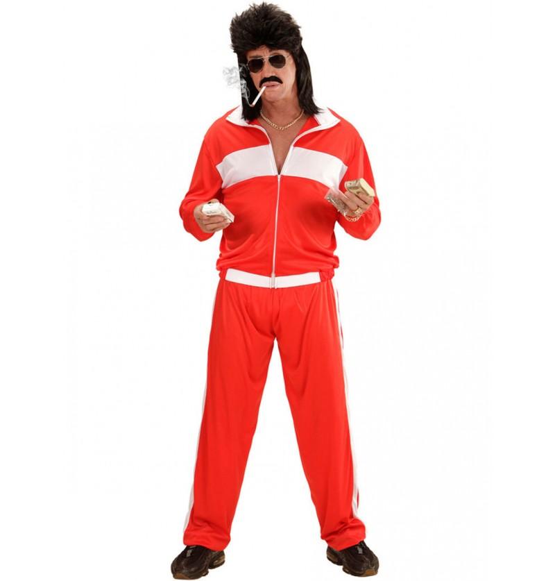 Disfraz de deportista en baja forma para hombre