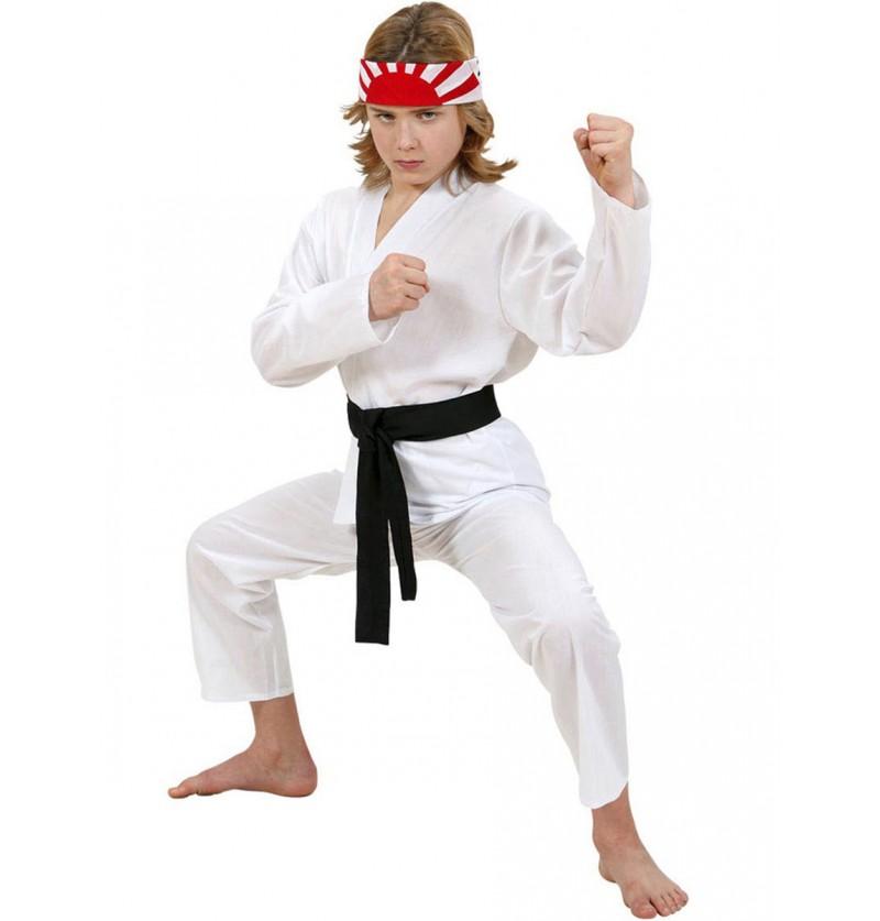 Disfraz de karateca profesional para niño