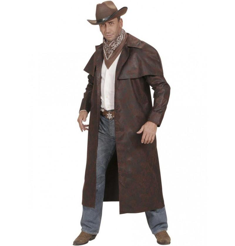 Abrigo de cowboy del oeste para hombre