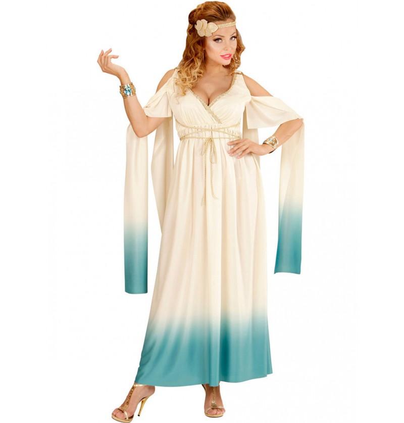 Disfraz de aristócrata griega para mujer talla grande