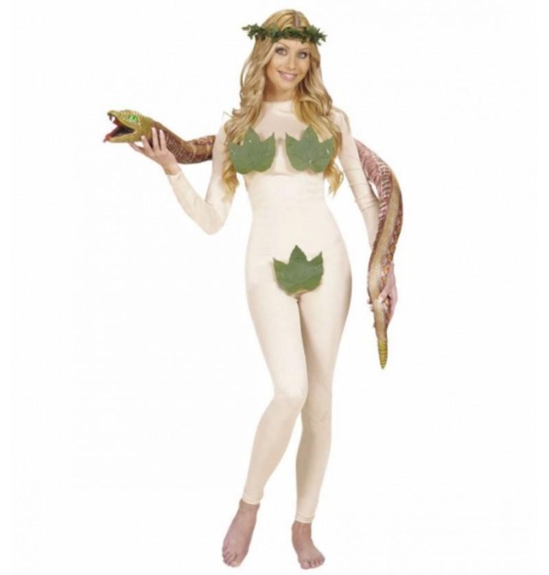 Disfraz de Eva en el paraíso para mujer