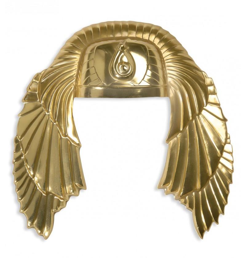 Tocado de egipcio dorado para hombre