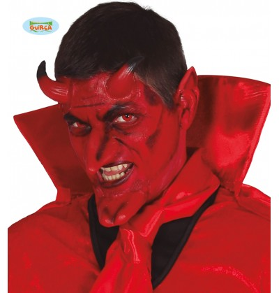 set de prtesis de demonio de ltex