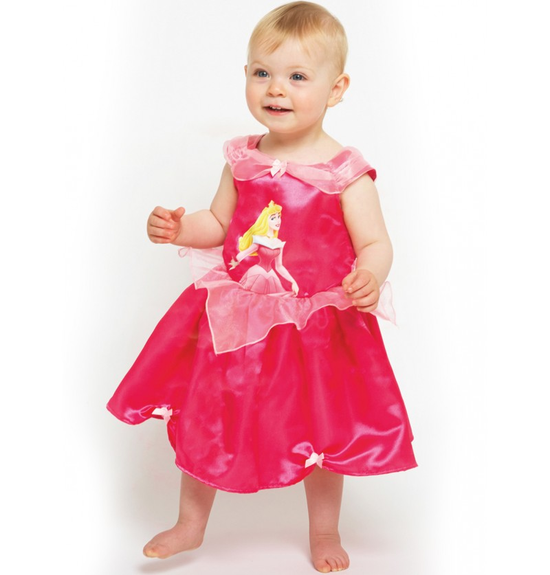 Disfraz de Bella durmiente deluxe para bebé
