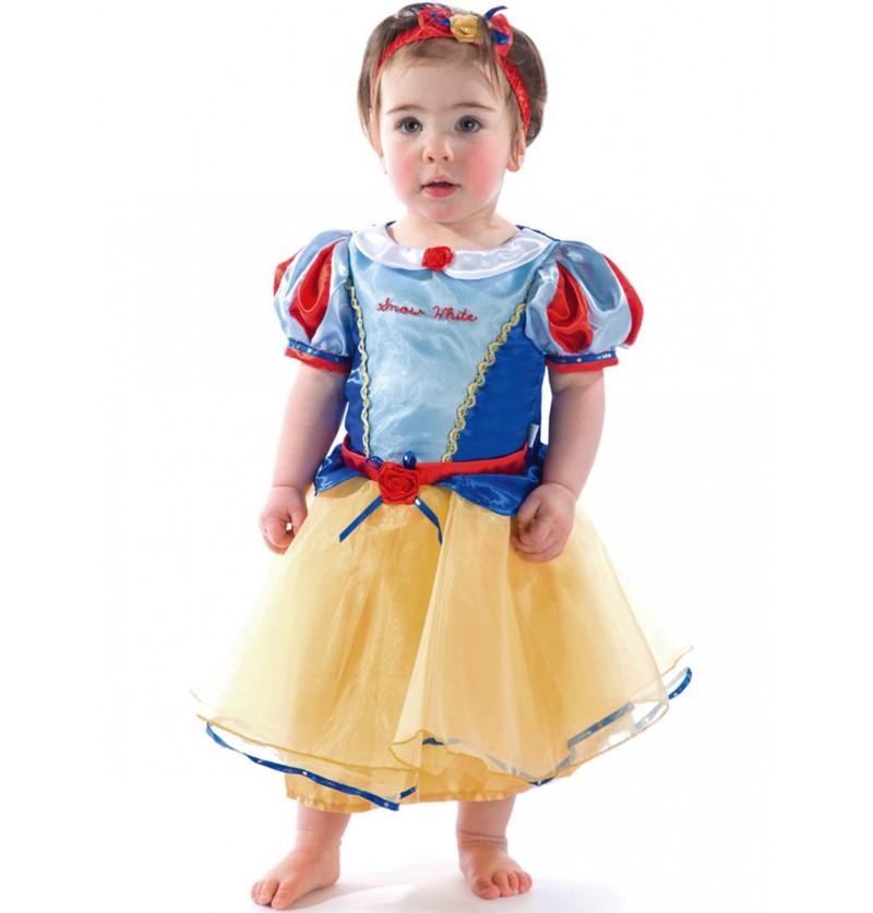 Disfraz de Blancanieves para bebé