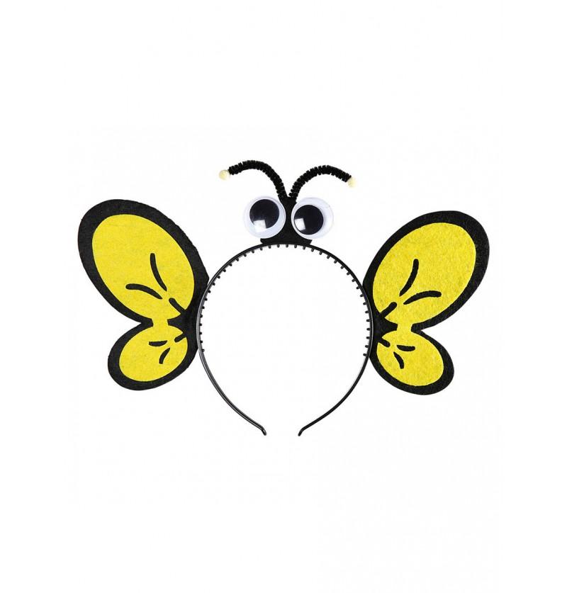 Diadema de abeja para niña