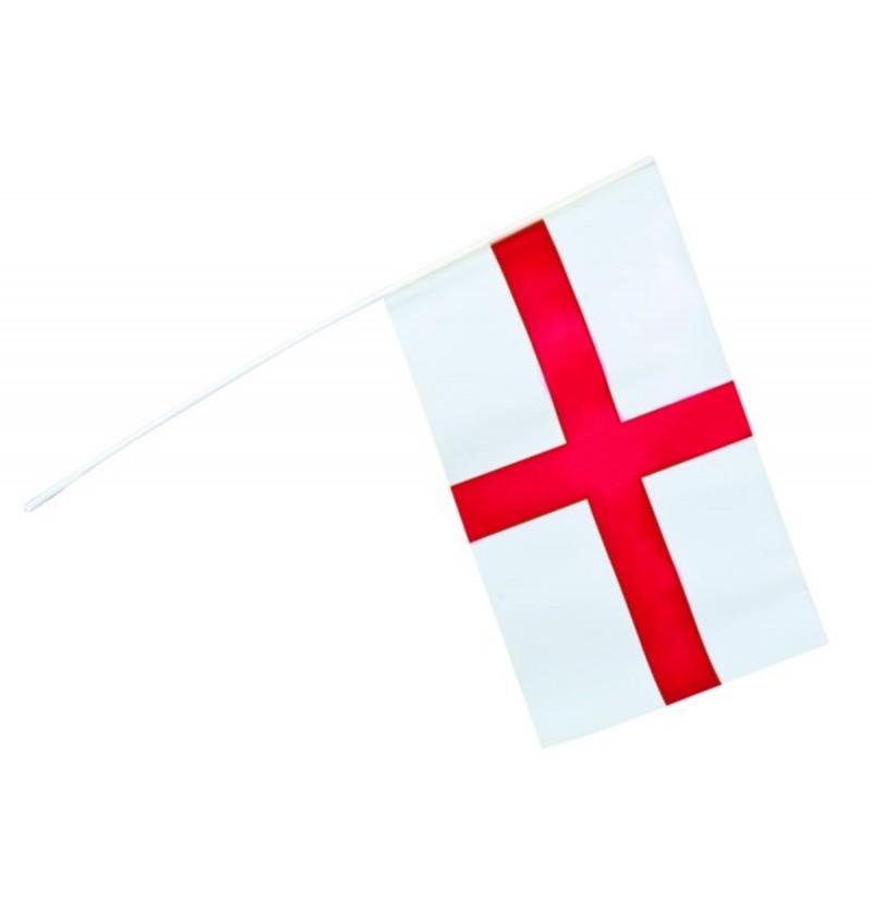 Bandera de Inglaterra de mano